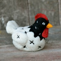 chicken felting kit