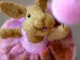 Bear Creek Bunny needle felted by Teresa Perleberg
