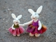 Needle Felted Bear Creek Bunnies by Teresa Perleberg