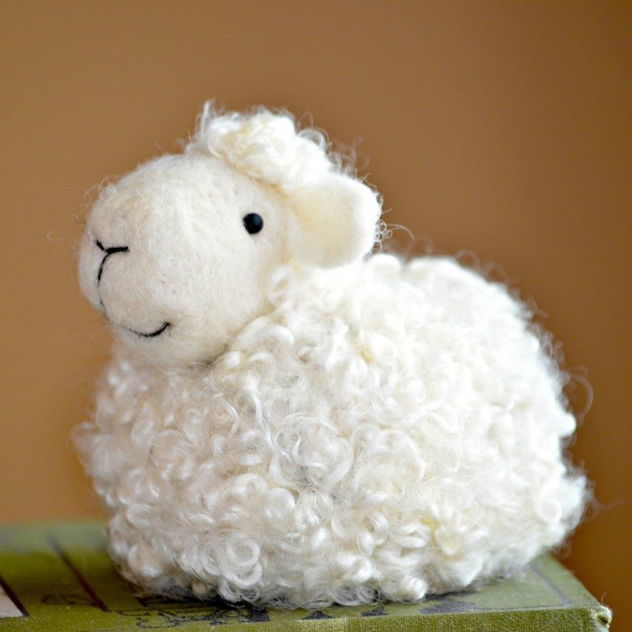 sheep needle felting kit