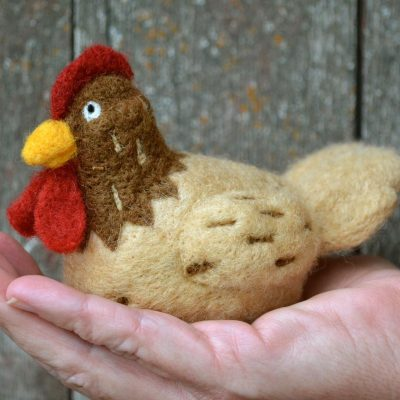 DIY Chicken Needle Felting Kit