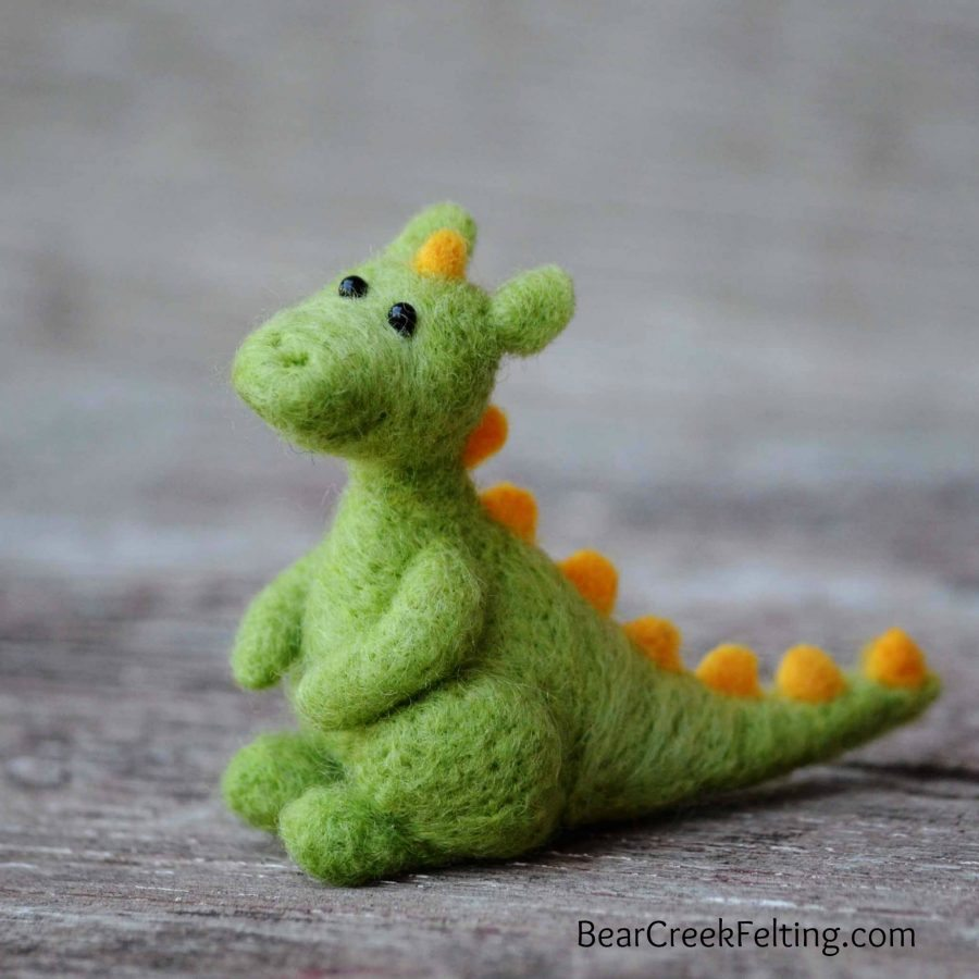 Dragon Needle Felting Kit