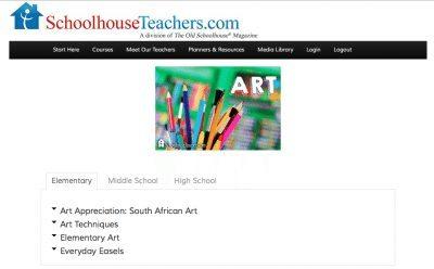 SchoolhouseTeachers.com Art
