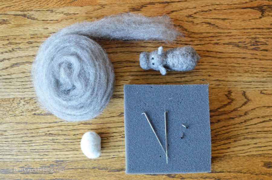 HIppo Needle felting kit