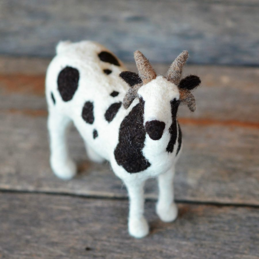 Needle Felted Jacob Sheep