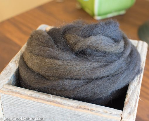 Taupe Wool